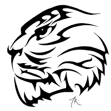 tribal tiger design photos pictures and sketches
