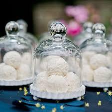 wedding cake jars wedding favors miniature glass bell jars a wedding cake