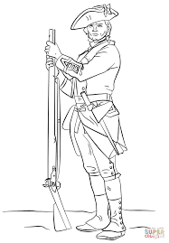 american revolution coloring page coloring home