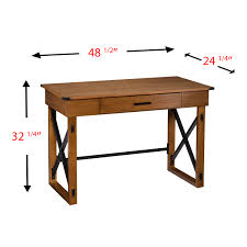 Adjustable Height Desk by Carlan Adjustable Height Desk Home Office