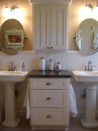 shabby chic bathroom target rectangle long modern wall mirror