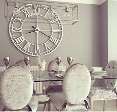 Large Shabby Chic Wall Clock by Clock Wall Zeppy Io