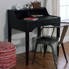 small black desks small black wood tilley storage desk world market