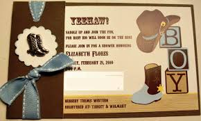 cowboy themed baby shower invitations gangcraft net