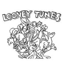 download looney tunes pictures color colouring pages