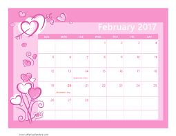 2017 us calendar printable february 2017 calendar printable with holidays weekly calendar