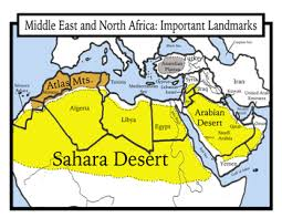 africa map color geography middle east and africa maps students color