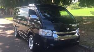 toyota hiace 2014 hiace 2014 4wd 10 seater pearl black 5000 kms for sale edward