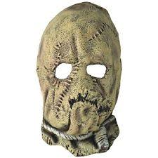 Scary Scarecrow Costume Scarecrow Costume Mask Kids Batman Begins Scary Horror Halloween