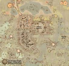 Glenumbra Treasure Map Shivering Isles Map Of New Sheoth Guide To New Sheoth