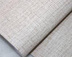 Self Adhesive Wallpaper by Faux Grasscloth Peel Stick Wallpaper Khaki Linen Self Adhesive