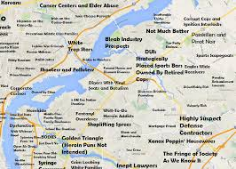 map of philly this philadelphia map will offend pretty much everyone curbed philly