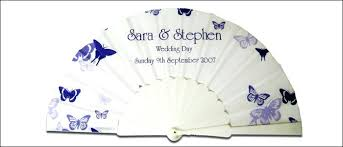 personalized fans personalized fans for wedding favors set personalized wedding