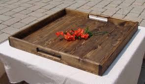 storage ottoman coffee table with trays coffee table tray etsy coaster storage ottoman with trays black il