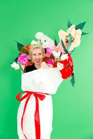 diy halloween costume idea bouquet of flowers love maegan