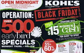 kohls black friday ads deals sales new car relese 2018 2019