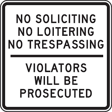 trespassing laws for security guards texas