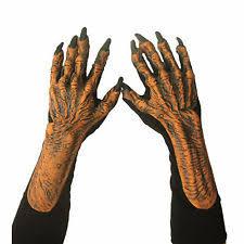 Creature Black Lagoon Halloween Costume Halloween Monster Hands Ebay