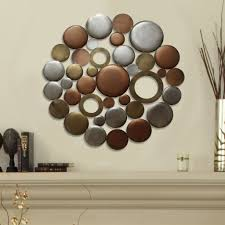 Metallic Home Decor by Mixed Round Cluster Wall Décor U2013 Stratton Home Decor