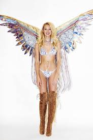 victoria s secret halloween costume candice swanepoel at victoria u0027s secret fashion show 2015 fitting