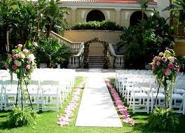 Garden Wedding Idea Backyard Wedding Ideas To Save The Budget