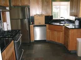 granite countertop rubber wood kitchen cabinets pinterest