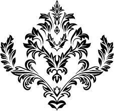 clipart decorative ornamental floral flourish line