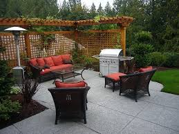 Backyard Ideas On A Budget Patios by Garden Design With Backyard Patio Ideas For Small Spaces Photo