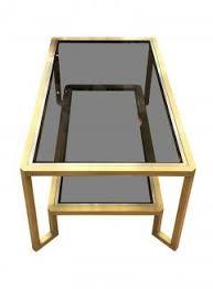 Brass Coffee Table Romeo Rega Brass Coffee Table In The Manner Of Romeo Rega