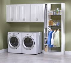 Laundry Room Hamper Cabinet by Interior Laundry Room Design Idea With Mdf Wall Cabinets And