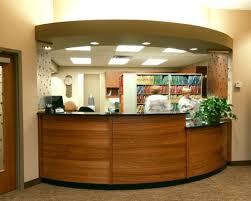 Granite Reception Desk Dental Care Associates Of Buffalo The Reception Desk U0027s Materials