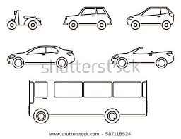 car outline stock images royalty free images u0026 vectors shutterstock