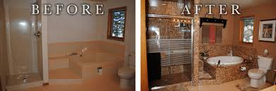 Before And After Bathrooms One Day Bath Remodel All Star Remodeling U0026 Design