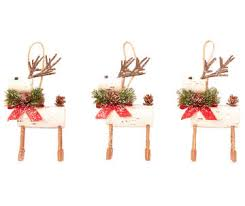 Wooden Deer Christmas Decorations by Christmas Ornaments U0026 Tree Decorations Big Lots