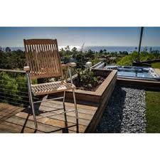 seateak bimini teak folding deck chair west marine