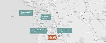 Cupertino Ca Map Location Main Street Cupertinomain Street Cupertino