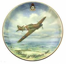 40th anniversary plates coalport 40th anniversary of the battle of britain hurricane plate