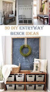 entryway bench 30 interesting diy entryway bench ideas cool diys