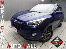hyundai tucson 2014 white 2014 hyundai tucson se city ohio north coast auto mall of cleveland