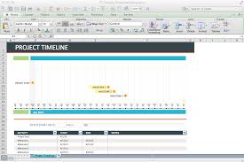 Excel Timeline Template Free Track Projects In Excel Like A Paper Books