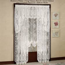 Good Valance Motifs Lace Curtains Touch Of Class
