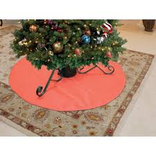tree floor protector mat green