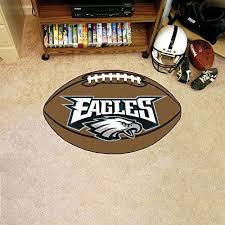 amazon com fanmats nfl philadelphia eagles nylon face football