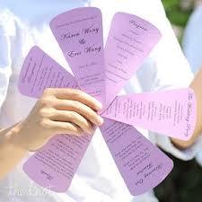 purple wedding programs purple wedding programs