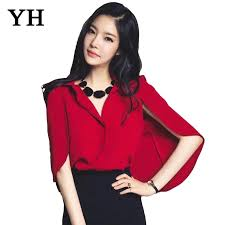 womens blouses for work blouse top style 2015 summer turn collar