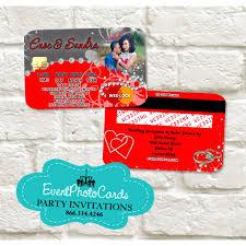 wedding credit card gray invitations invitaciones de boda
