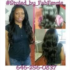 sewing marley hair crochet braids with marley hair styled by fab fergie instagram