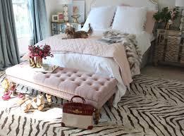 feminine bedroom south shore decorating blog room reveal pink and gold feminine in