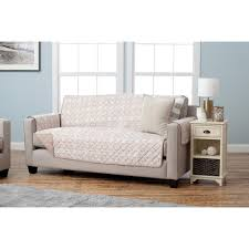 sofa taupe great bay home adalyn collection taupe printed reversible sofa