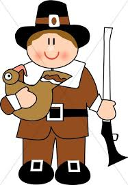 pilgrim thanksgiving clipart
